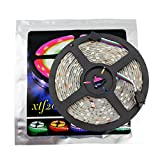 xtf2015 Led Strip Lights LED Lighting 5Meter 16.4ft Waterproof Flexible Color Changing RGB SMD5050 150 LEDs Light Strip