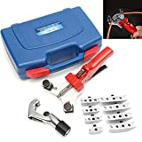 Aluminum Tube Composite Hand Multi Copper Refrigeration Pipe Bender Tool Kit With Cutter