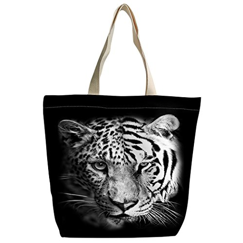 Canvas Sacs Sac bandoulière spleiß cartable violetpos Guépard Tiger à lustiger Shopping main personnalisé Sac qXqS5x0F