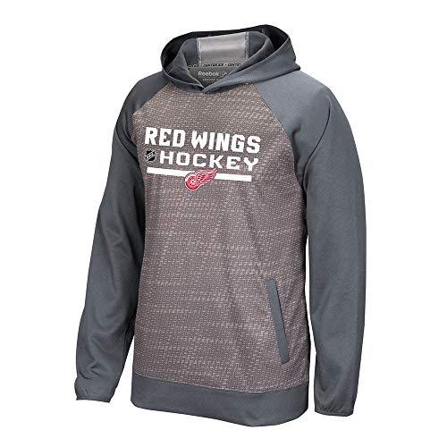 - adidas Detroit Red Wings Reebok Center Ice TNT Authentic Locker Pullover Hoodie Men's