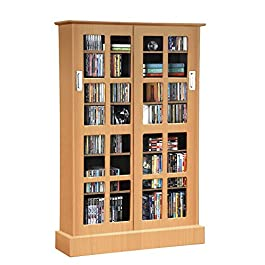 Atlantic Windowpane Adjustable Media Cabinet
