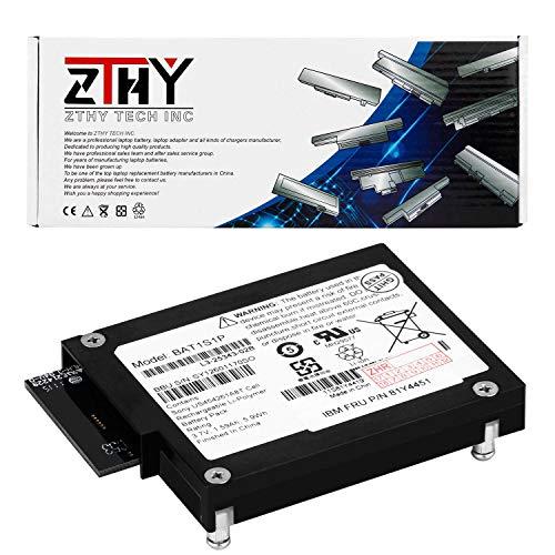 ZTHY New BAT1S1P Backup Unit Battery Replacement for LSI Logic BBU-iBBU08 MegaRaid RAID 81Y4451 IBM 9260-8i 9280-8i M5000 M5110 M5014 M5015 M5016 Series Controllers 3.7V 1.59Ah 5.9Wh