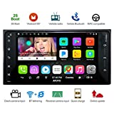 [For Toyota] ATOTO A6 Android Car Navigation Stereo w/ Dual Bluetooth & 2A Charge -A6TYT711P 1G/32G Specific vehicle Entertainment Multimedia Radio,WiFi/BT Tethering internet,support 256G SD &more