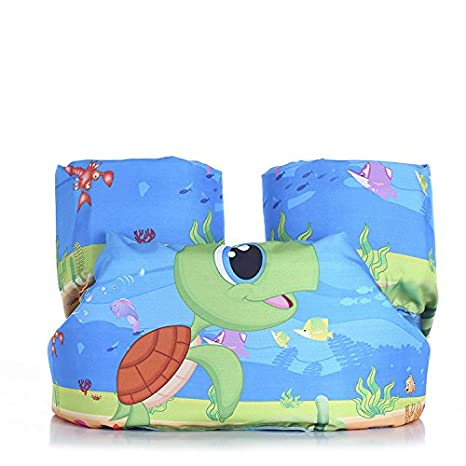 Supfirefly Swim Vest Toddlers Pool Floats Children Buoyancy Trainer Kids Floaties Training Paddles
