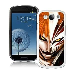 Beautiful Designed Case With Bleach Ichigo White For Samsung Galaxy S3 I9300 Phone Case