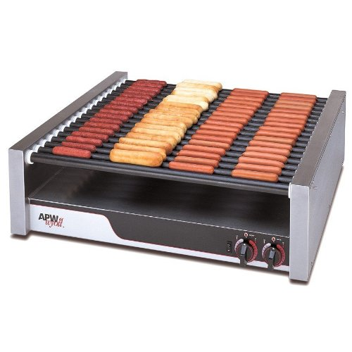 apw-wyott-hrs-85-xpert-flat-top-hot-dog-roller-grill-with-tru-turn-surface-rollers-208-240v-2017-264