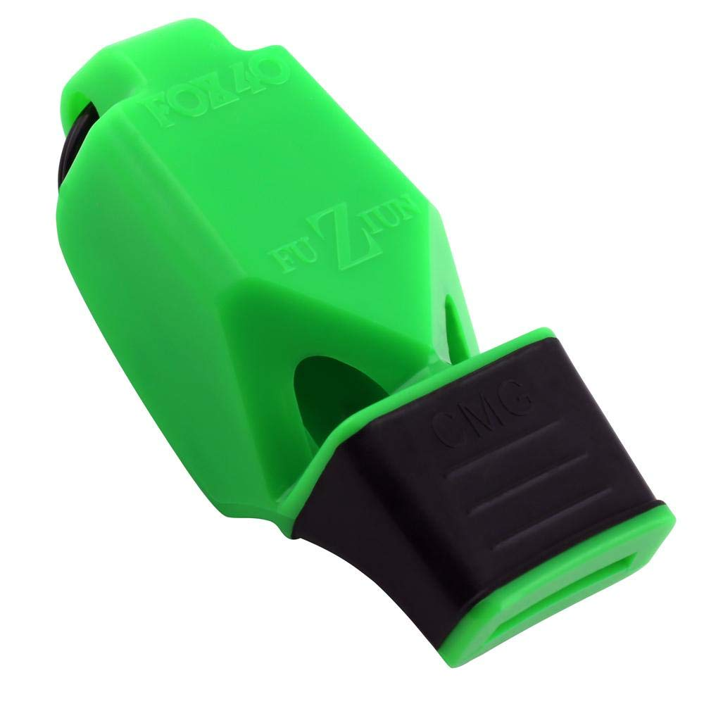 Fox 40 FUZIUN CMG Whistle with Breakaway Lanyard (Neon Green) by Fx 40