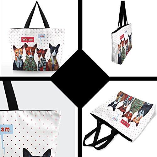 handbag Mr Shopping Belsen Printing Women's Dog Bags Shoulder Fashion qAfvzH
