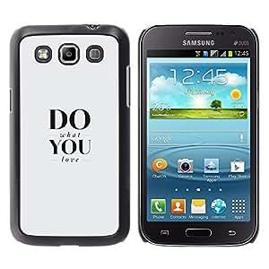 Caucho caso de Shell duro de la cubierta de accesorios de protección BY RAYDREAMMM - Samsung Galaxy Win I8550 - Fa quello che ami