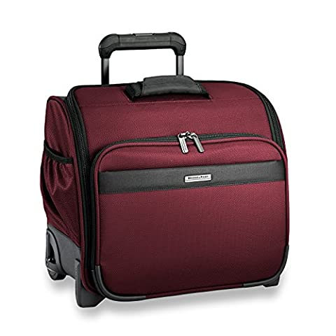 Briggs & Riley Transcend Rolling Cabin Bag, Merlot - Red Usa Merlot