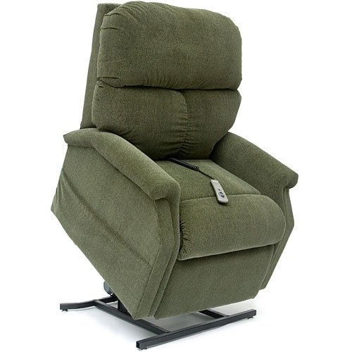 Classic LC-250 3-Position Lift Chair Recliner - Cloud Nine Standard Fabric: Black Cherry (Three Position Recliner)