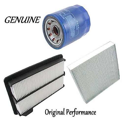 Tune Up Kit Cabin Air Oil Filters for Honda Civic Si; MUGEN Si; 2.0L; K20Z3 Eng.; DOHC; Gas 2008