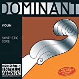 Thomastik-Infeld 135B.14 Dominant Violin Strings, Complete Set, 135B, 1/4 Size, With Chrome Steel Ball End E String