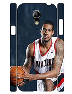 Classic Theme Smart Phone Case Outstanding Guy Basketball Athlete Printed Tough Case Cover for Samsung Galaxy S4 Mini I9195 (XBQ-0110T)