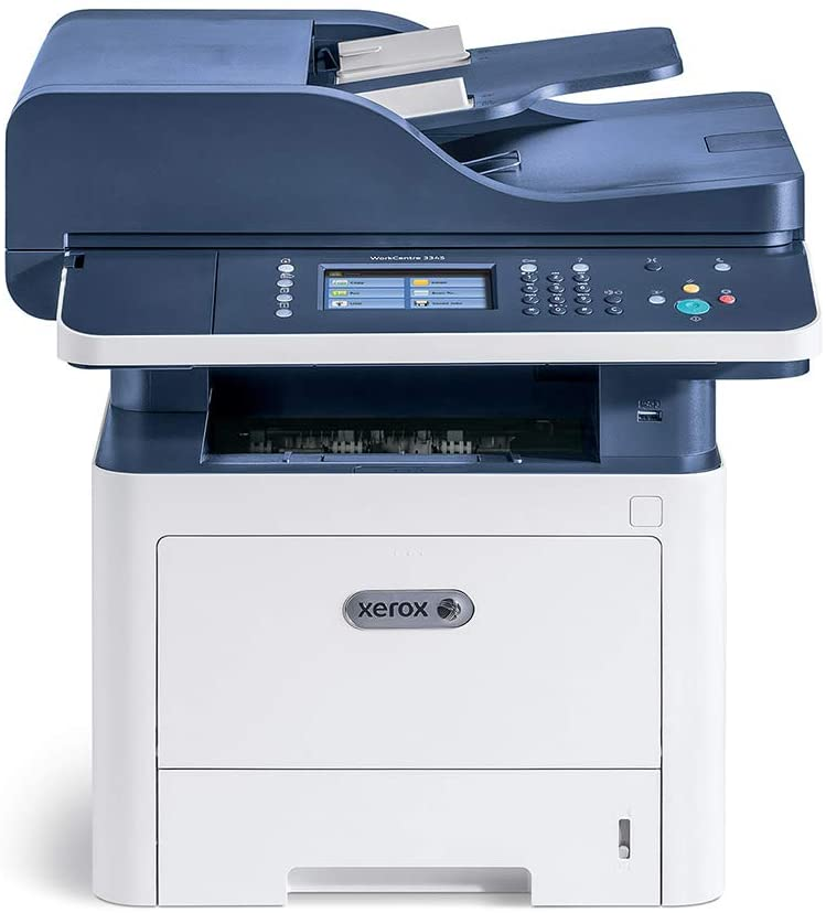 Xerox WorkCentre 3345/DNI Monochrome Multifunction Printer, Amazon Dash Replenishment Ready
