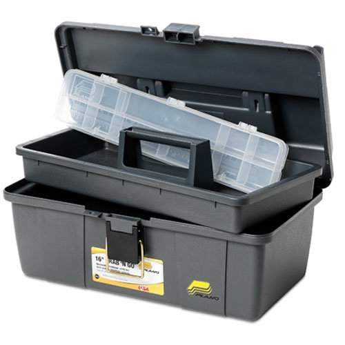 Plano 452-006 Grab-N-Go 16-Inch Tool Box with - Go Boxes Plano