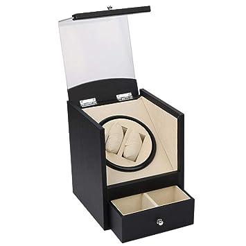 Olydmsky Reloj colección Caja Motor eléctrico Reloj Almacenamiento Caja mecánica Caja de presentación: Amazon.es: Hogar