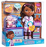 """Doc McStuffins Talking & Singing 11"""" Doll with Lambie and Stuffy figure"""