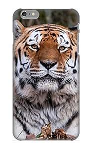 Awkjja-3448-iarxgrv Hot Fashion Design Case Cover For Iphone 6 Plus Protective Case (animal Tiger)