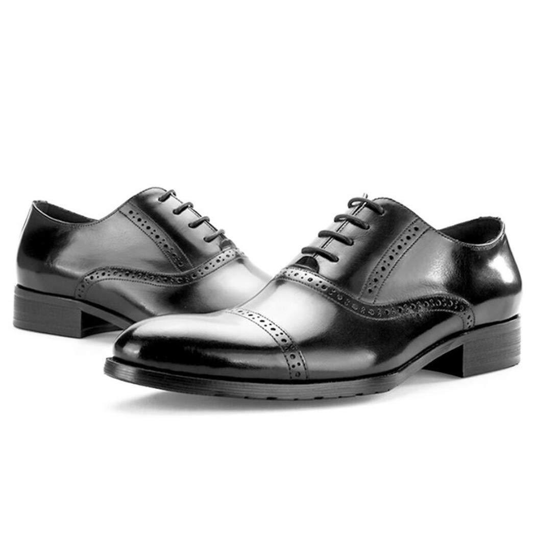 Zxcvb Leder Herren Leder Zxcvb Retro britischen Stil Geschäft geschnitzt Oxford Schuhe wies Schuhe 2967f5