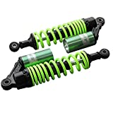 GZYF 320mm 12.5'' Pair Air Shock Absorbers For Honda Yamaha Scooter ATV Quad Green