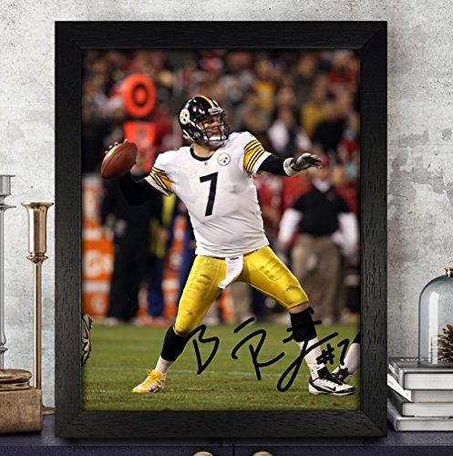 Ben Roethlisberger Signed Autographed Photo 8X10 Reprint Rp Pp - Pittsburgh Steelers ()