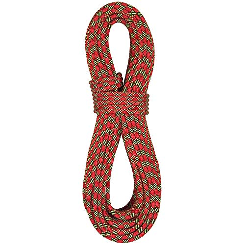 BlueWater Ropes 8.4mm Excellence Double Dry Dynamic Half Rope (Red, 70M)