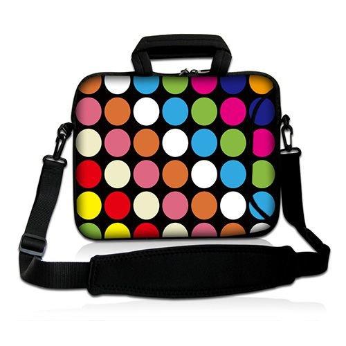 Pedea Design Schutzhülle Notebook Tasche 39,6 cm (15,6 Zoll) mit Schultergurt color points