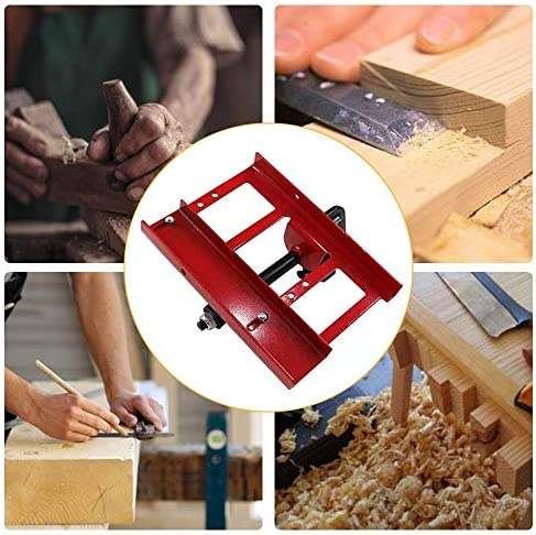 InLoveArts Mini Chainsaw Mill, Lumber Cutting, Chainsaws Grinder Lumber Guide Rail for Construction Workers Woodworkers, Contains 1 Electric Grinder 1 Set of Assembly Tools