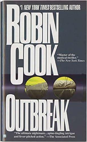 Amazon Com Outbreak A Medical Thriller  Robin Cook Books