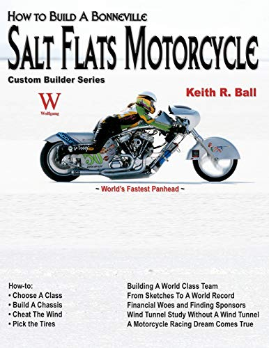 How to Build a Bonneville Salt Flats Motorcycle (Custom Builder)
