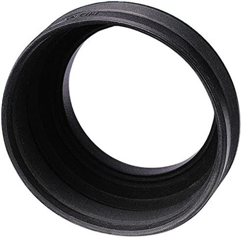 Hama 62mm Screw-In Rubber Zoom Lens Hood