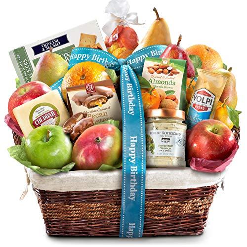 Birthday Abundance Gourmet Fruit Basket Gift