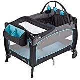 Evenflo Portable Baby Suite Deluxe, Koi, Blue, Grey, White