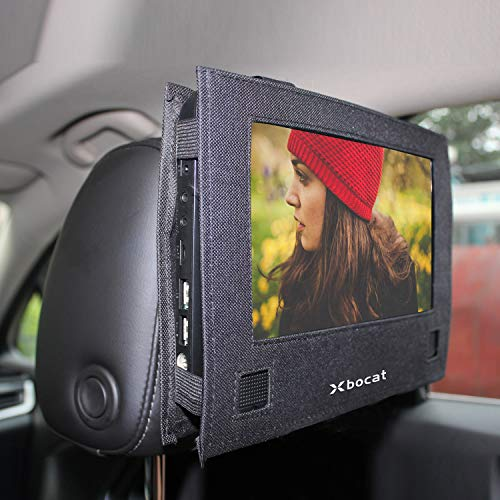 Car Headrest Mount for Swivel & Flip Style Xbocat Portable DVD Player - 10 to 10.5 inch