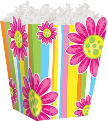 Citrus Garden Sweet Treat Gable Boxes for Food Gift Baskets