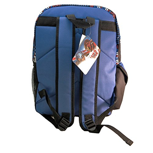 Ruz Captain America Bürgerkrieg Rucksack Tasche