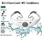 Tayogo Waterproof MP3 Player, IPX8 Waterproof Headphones for Swimming, 8GB Memory Can Download
