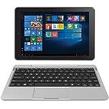 RCA Cambio 10.1 2 in 1 32GB Tablet with Windows 10, Intel Atom Z8350 2GB RAM, IPS 1280 x 800 Includes Keyboard - (Silver)