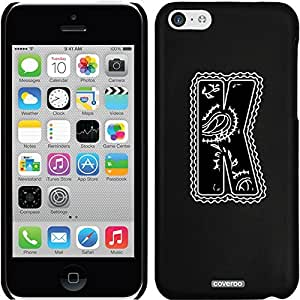 Coveroo iPhone 5 5s Black Thinshield Snap-On Case with Classy K Design