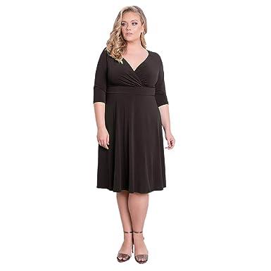 Ike Chimbandi Women\'s Plus Size Evening Dresses with Half ...