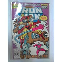 Iron Man Annual #11 : If The Termini Come... (Marvel Comic Book 1990)