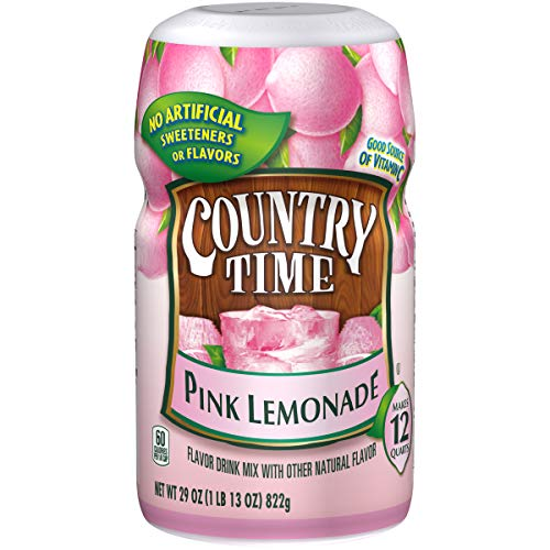 Country Time Pink Lemonade Drink Mix (29oz Canister)
