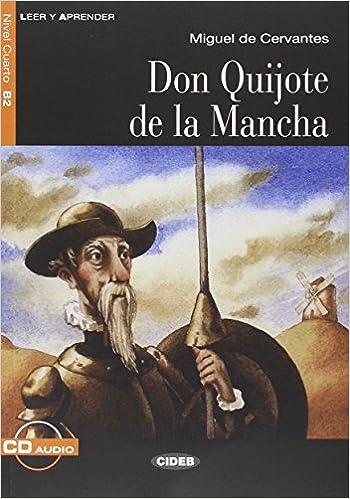 Leer y Aprender: Don Quijote De La Mancha - Book + CD (Spanish