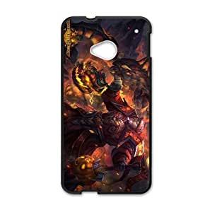 HTC One M7 Cell Phone Case Black Defense Of The Ancients Dota 2 WARLOCK 008 IX7672510
