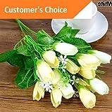 Best Garland Fake Eyelashes - Hebel 1 Bouquet 15 Heads Fake Tulip Bud Review