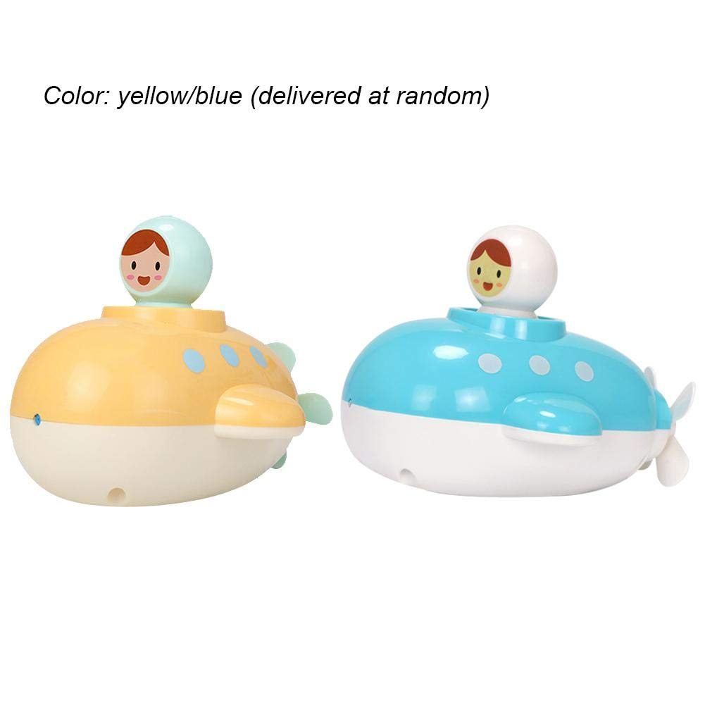Diuspeed Jouet de sous-marin d'enfant, enfant de bain de source d'eau remplissant des jouets sûrs pour les bambins