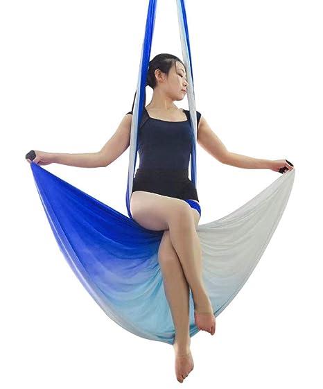 YPSMLYY El Kit De Columpio Y Hamaca De Yoga Aéreo De Seda ...