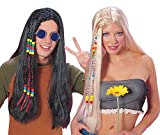 Rubie's Official Feeling Groovy Hippy Blonde Wig, Adult Costume - One Size