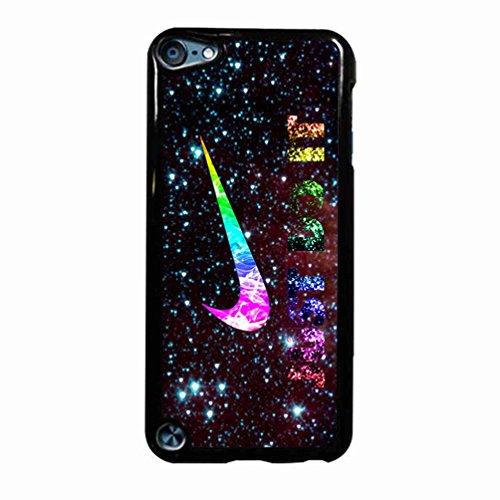 Nike Just Do It Galaxy Nebula Case / Color Black Plastic / Device iPod Touch 5 (Nike 5 Ipod Case)